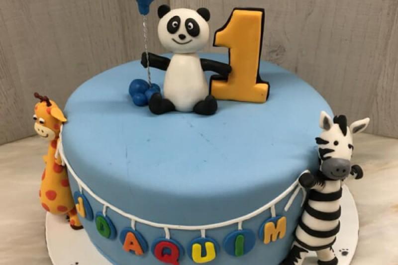 bolo de aniversário panda brisanorte