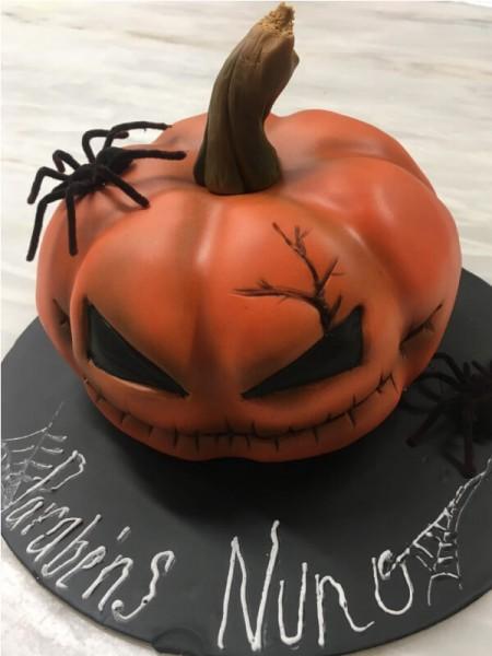 bolo de halloween brisanorte